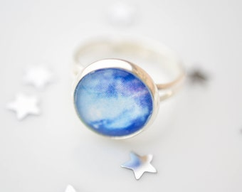 Galaxy Ring, Universe Ring, Space Jewelry