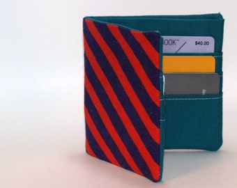 Slim Fabric Wallet