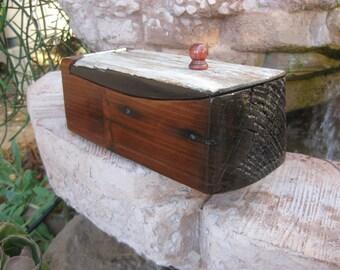 Redwood Whale Box