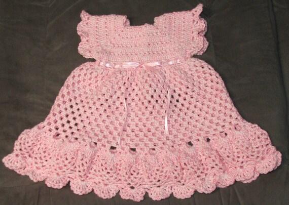 Pretty Pinafore Crochet Dress