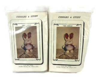 Craft Supplies of Baby Bunnies Kits to Make for Easter Set of 2 NEW Unopened