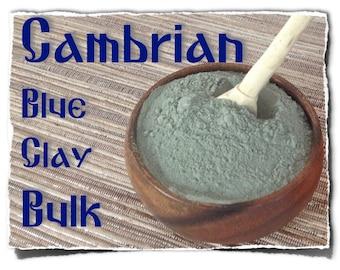 Bulk Cambrian Blue Clay -  (1kg / 2.2lb.)