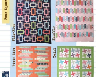 Four Square Quilt Pattern