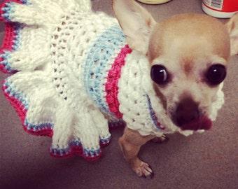 PDF PATTERN - Puffa Love Crochet Dog Dress Pattern
