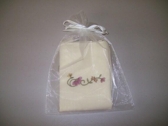Embroidery Applique Canvas Tote Bag