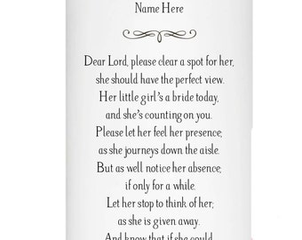 In Memory of my Mom - Wedding day