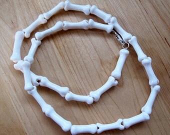 Moulded Bone Necklace