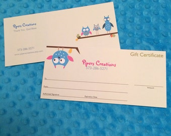 35.00 Gift Certificate toward anything in my shop
