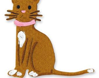 Sizzix #655621 MacKenzie's Cat Latte **USED**
