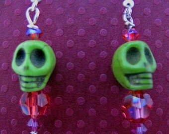 Day of the Dead Skelly Earrings