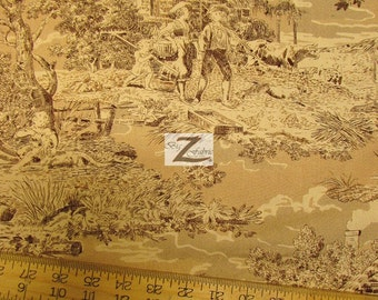 """Back Home Again By Wilmington Prints 100% Cotton Fabric - 45"""" Width Sold By The Yard (FH-932)"""