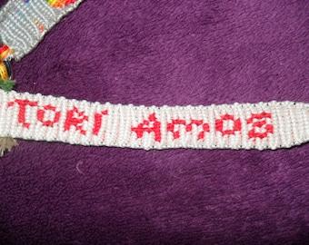 TORI AMOS Hair Name Keychain! Handmade!