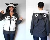 Toto --Handmade Anti-Pill Fleece Hoodie / Sweatshirt