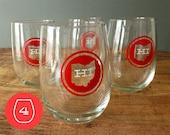 Set of 4 Ohio Stemless Wine Glasses