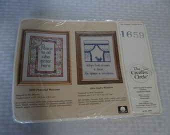 The Creative Circle - Peace to All Who Enter Here 1659 - Needlepoint Kit