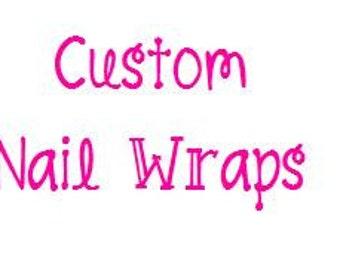 Custom Nail Wraps