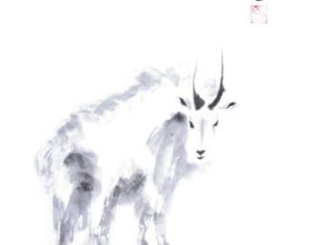 Chinese Zodiac Goat 8x10 print