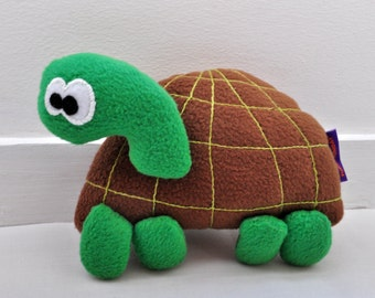 The Tortoise plushie / Hand made plush, doll