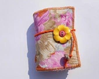 SUPER SALE - Forever Flowers - mini handbound book