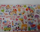 Japan Mind Wave kawaii ANIMAL Amusement Park sticker sheet/72154