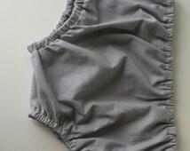 Grey Diaper Cover