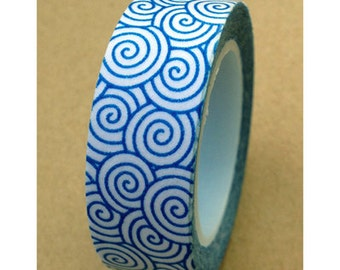 "Washi Tape ""Swirly"" 10 Meters"
