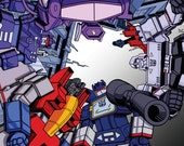 Straight Outta Cybertron Poster Custum 12x12 Inch size.