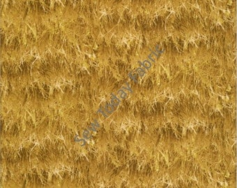 Golden Wheat Fields - Elizabeth's Studio 250-WHEAT (sold by the 1/2 yard)