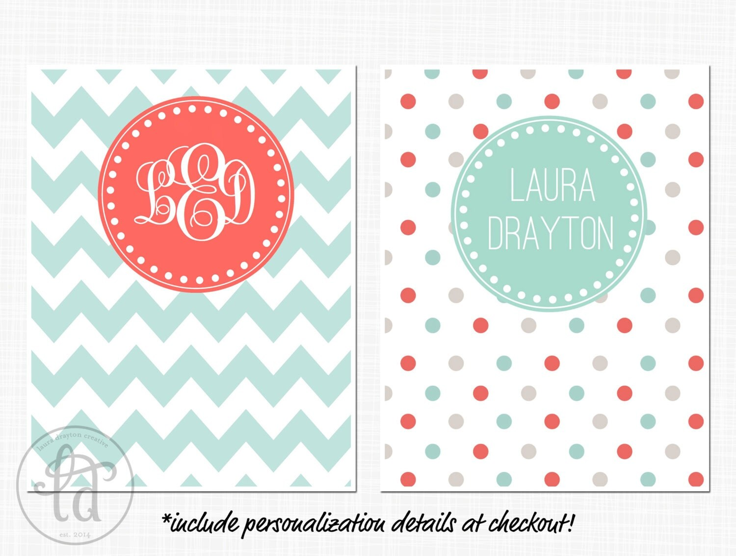 2015 personalized planner letter size by lauradraytoncreative for Custom photo planner
