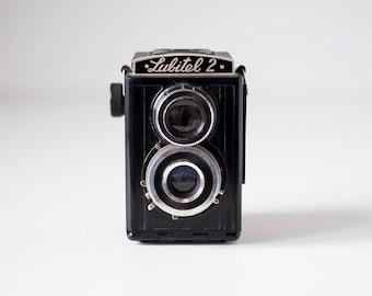 Vintage soviet medium format camera - LUBITEL 2