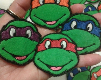 Teenage Mutant Ninja Turtles Patches