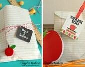 CUSTOM ORDER for SARAH - Notebook Paper Favor Bags