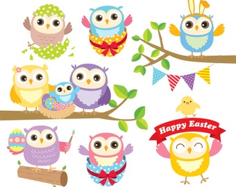 Popular items for easter owl on Etsy