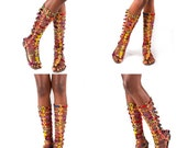 African Gladiator Boots