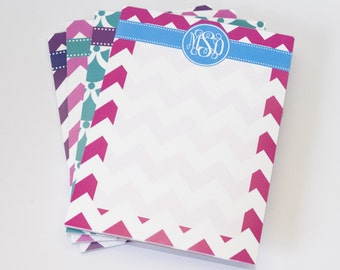 Monogrammed Notepad - 4 x 5 - [DYO]