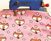 Mister Fuchs pink Stern Bio Baumwolle Jersey