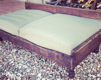 Giant Breed wooden dog bed