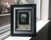 Wedding Anniversary Picture Frame Shadow Box Pearls and Jewels Gift