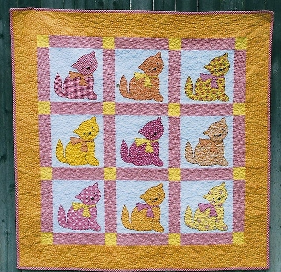 Cat Nap Quilt Pattern By Under The Garden Moon Amy Mcclellan