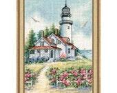Cross Stitch Kit - Scenic Lighthouse