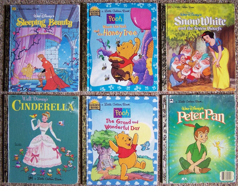 Little Golden Books Collection of 12 Children's Books