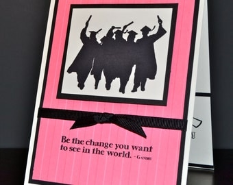 Graduation Gift Card Holder in Choice of Color