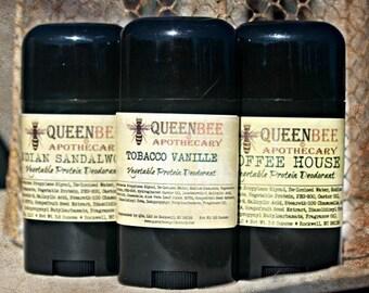 DEADWOOD SALOON Natural Vegetable Protein Deodorant - Vegan - No Aluminum