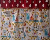 Happy Days Kitchen Curtain and Valance