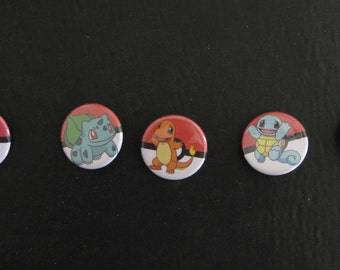Cartoon Pin Back Buttons, Magnets, Key Chains and Zipper Pulls