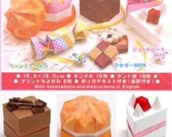 Origami Cake Box Kit
