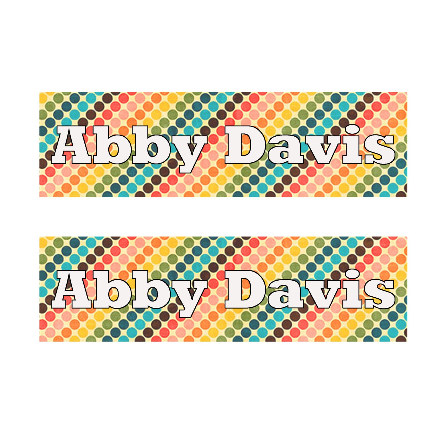Custom iron on clothing labels personalized clothes