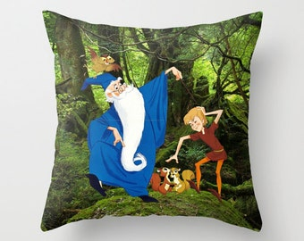 Disney's The Sword in the Stone Decorative Pillow with insert