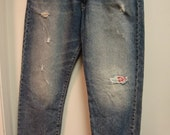Redesigned Recycled Upcycled Jeans - Use coupon code shipfree1 for Free Shipping!