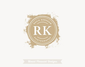 Premade photography logo design & watermark - vintage logo design - graphic design